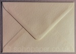 Hammer Embossed Ivory C6 - 114 x 162mm Envelopes 100gsm